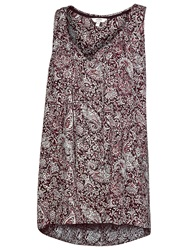 Fat Face Kingston Batik Paisley Tunic Phantom