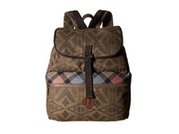 Pendleton Timberline Twill Day Pack Diamond River Tonal Day Pack Bags Brown