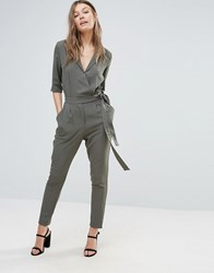 Sugarhill Boutique Boutiquetailored Jumpsuit Green