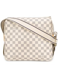Louis Vuitton Vintage Checkboard Monogram Bag White