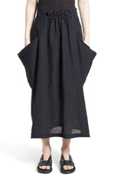 Yohji Yamamoto Women's Y's By Side Pocket Panel Skirt