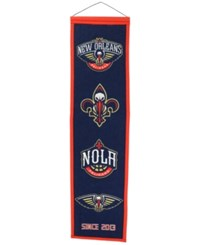 Winning Streak New Orleans Pelicans Heritage Banner Team Color