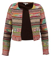 Glamorous Blazer Brown Multi Multicoloured
