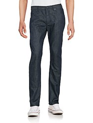 Raleigh Denim Jones Fleck Textured Cotton Jeans Fleck Raw