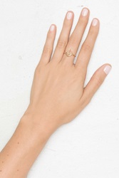 Nasty Gal Luv Aj Open Spear Ring