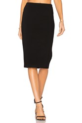 Diane Von Furstenberg Knit Pencil Skirt Black