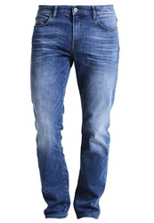 Pier One Relaxed Fit Jeans Mid Blue Blue Denim