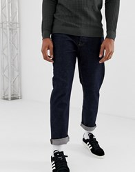 Cheap Monday In Law 90S Fit Jeans In Raw Blue Law Rinse Blue