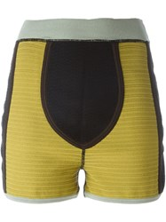 Jean Paul Gaultier Vintage Vintage Fitted Shorts Multicolour