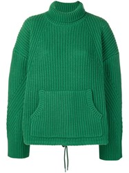 Undercover Knitted Jumper Green