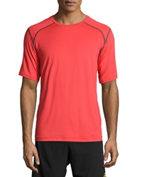 Asics Lyte Short Sleeve Tee Red Heat Steel