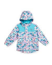 The North Face Tailout Printed Rain Jacket Multi Size 2 4T
