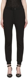 Alexander Wang T By Black French Terry Lounge Pants