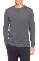Tasc Performance Men's Legacy Crewneck Sweatshirt Black Heather