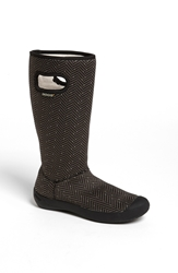 Bogs 'Summit Herringbone' Waterproof Boot Black
