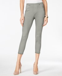 Style And Co Twill Capri Leggings Only At Macy's Misty Harbor
