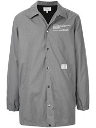 Makavelic Lightweight Button Down Jaket Grey