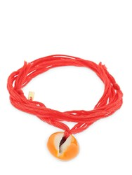 Aurelie Bidermann Merco Laque Orange Bracelet Array 0X5866870
