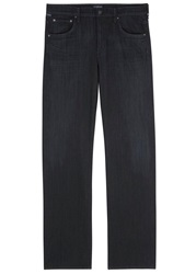 Citizens Of Humanity Sid Midnight Blue Straight Leg Jeans Nearly Black