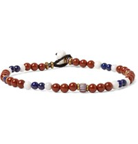 Mikia Multi Stone Bead Bracelet Red