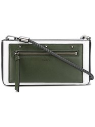 Dkny Small Bungee Rope Crossbody Green
