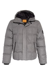 Ugg Cadin Technical Water Resistant Down Parka Medium Heather Grey