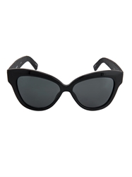 Linda Farrow Snakeskin And Acetate Cat Eye Sunglasses