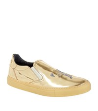 Billionaire Metallic Skate Sneaker Male