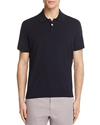 Theory Goris Slim Fit Knitted Polo Eclipse