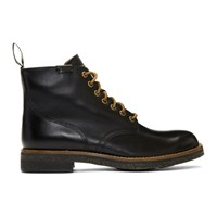 Polo Ralph Lauren Black Army Boots