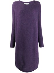 Christian Wijnants Jumper Dress Purple