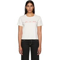 Amo White 'You Are Loved' T Shirt