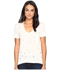 Joe's Jeans Gilles Tee White Women's T Shirt
