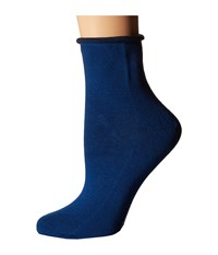 Richer Poorer Helena Ankle Blue Women's Crew Cut Socks Shoes