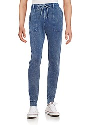 Ck Calvin Klein Denim Jogger Pants Blueberry