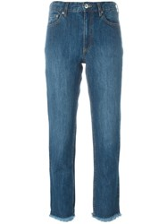 Each X Other Straight Leg Jeans Blue