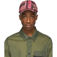 Paul Smith Ssense Exclusive Pink Paul's Photo Baseball Cap