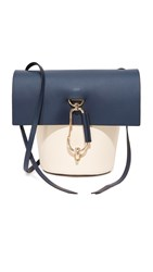 Zac Posen Belay Colorblock Cross Body Bag Navy
