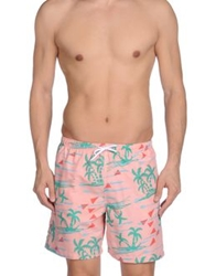 Franks Swimming Trunks Pink