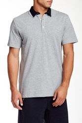 Shades Of Grey Contrast Polo Gray