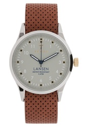Triwa Dawn Lansen Watch Brown Dots Mono