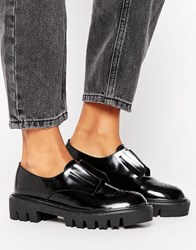 Sixty Seven Sixtyseven Cleat Sole Flat Shoe Blk Black