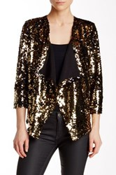 Free Press Shine Cardigan Jacket Metallic