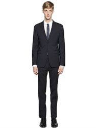 Z Zegna Micro Striped Stretch Virgin Wool Suit
