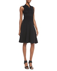 Jason Wu Sleeveless Polo Dress W Flounce Hem