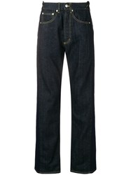 Alexander Mcqueen Regular Loose Fit Jeans Blue