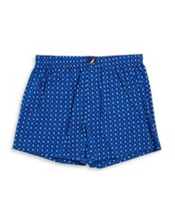 Nautica Plaid Cotton Boxer Shorts Lobster