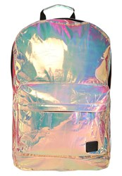 Spiral Bags Rucksack Holographic Multicoloured