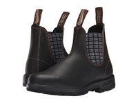 Blundstone Bl1463 Stout Brown Navy Tartan Work Boots Black