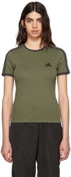 Yeezy Green And Navy Logo Baby T Shirt